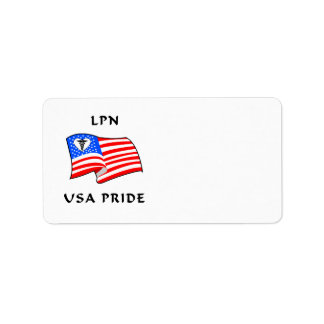 Nursing LPN USA Pride