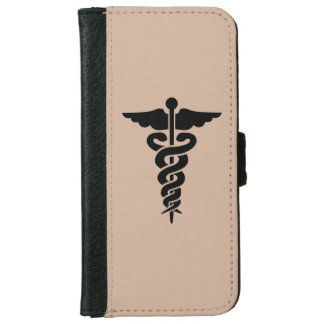 Nursing Medical Symbol iPhone 6 Wallet Case