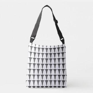 Nursing Medical Symbols Crossbody Bag