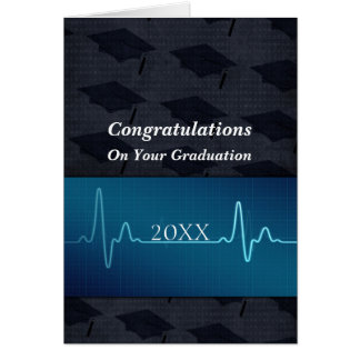 Nursing or Medical or Doctor Graduation Card
