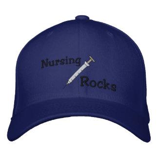 Nursing Rocks Embroidered Hat