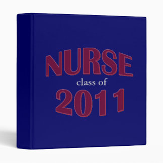 Nursing School Graduate Binder - Class of 2011