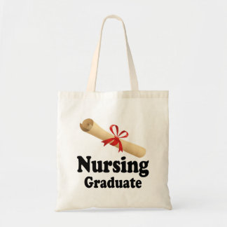 Nursing School Graduate Tote Bag