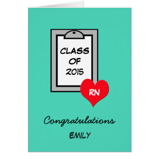 Nursing School Graduation Cards