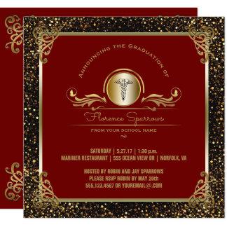 Nursing School Graduation Party | Pinning Ceremony Card