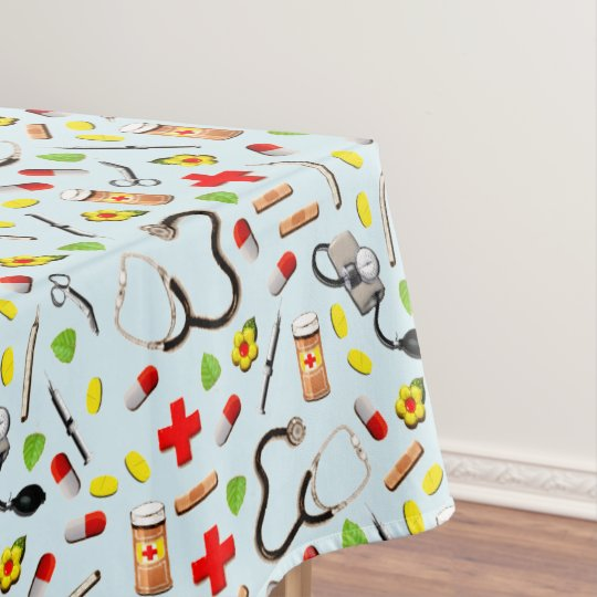 Nursing School Graduation Tablecloth