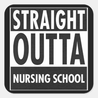Nursing School Square Sticker