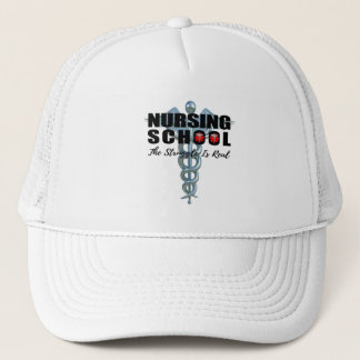 Nursing School The Struggle Is Real Trucker Hat