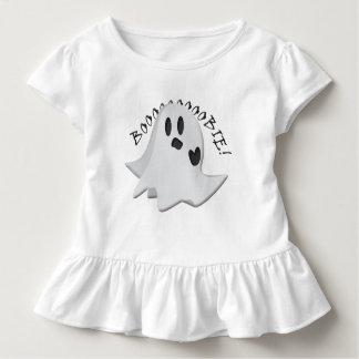 Nursing Silly Ghost Toddler Ruffle Tee
