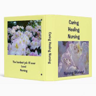 Nursing Student Binder custom Caring Healing Nurse