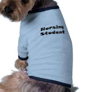 Nursing Student Pet T-shirt