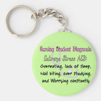Nursing Student Dx: T-Shirts & Gifts Hilarious! Keychain