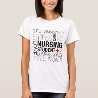 Nursing Student Text T-Shirt