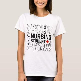Nursing Student Text T-Shirt