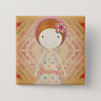 Nuskina 2 Inch Square Button