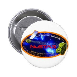NuSTAR (Nuclear Spectroscopic Telescope Array) 2 Inch Round Button
