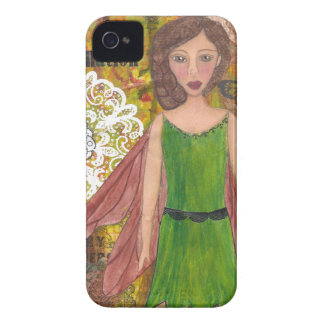Nut Brown Fairy cropped.jpg iPhone 4 Case