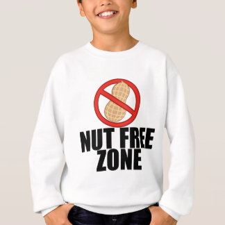 Nut Free Zone Sweatshirt