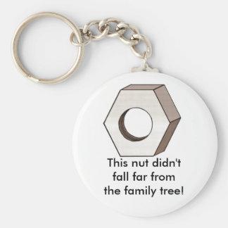 Nut Keychain