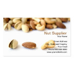 nut supplier Double-Sided standard business cards (Pack of 100)