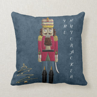 Nutcracker and Rat King Reversible Throw Pillow
