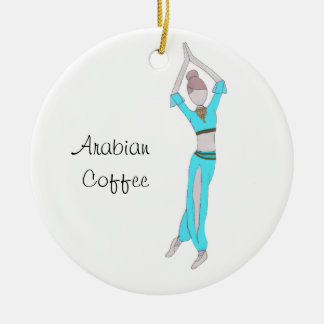 Nutcracker Arabian Coffee Keepsake Ornament