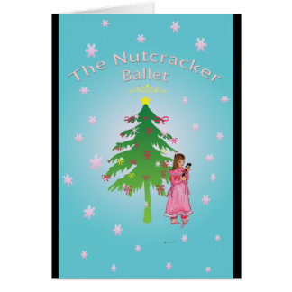 Nutcracker Ballet Clara Card