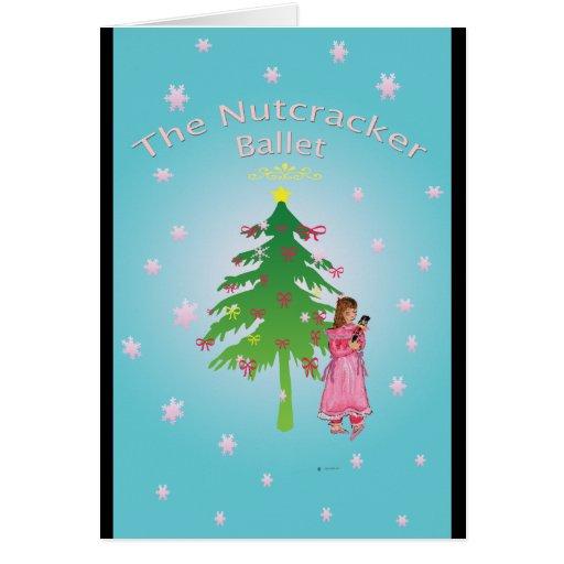 Nutcracker Ballet Clara Greeting Cards