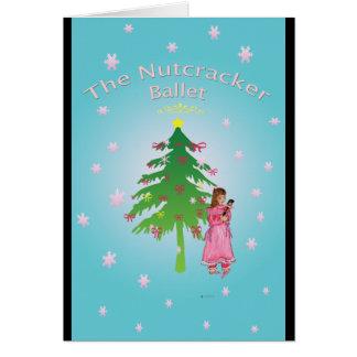 Nutcracker Ballet Clara Greeting Card
