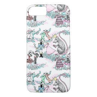nutcracker ballet doodles iphone case