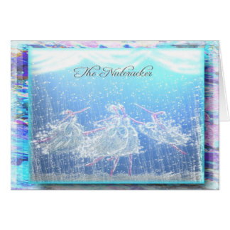 "Nutcracker Ballet ""Snow""-355 Card"