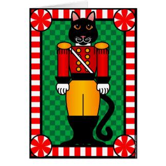 Nutcracker Cat Card