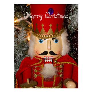 Nutcracker Christmas Holiday Card Postcard