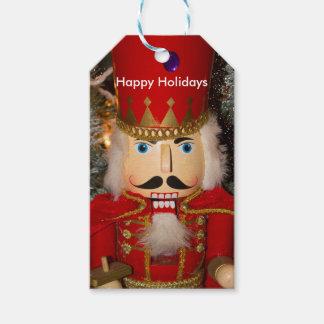 Nutcracker Christmas Holiday Favor Gift Tags