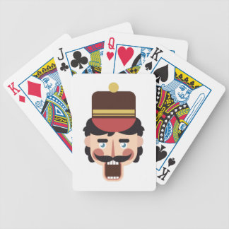Nutcracker Head Poker Deck