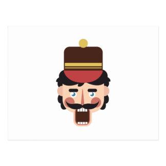 Nutcracker Head Postcard
