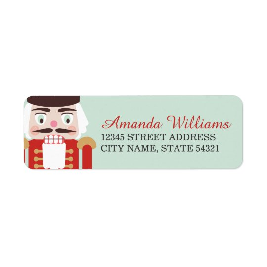 Nutcracker Holiday Address Labels