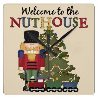 Nutcracker Holiday Wall clock