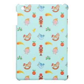 Nutcracker, horse, angel and bird Xmas pattern iPad Mini Case