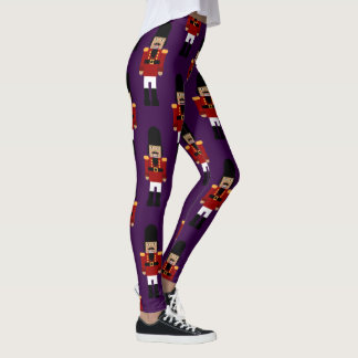 Nutcracker Leggings (Purple Background)