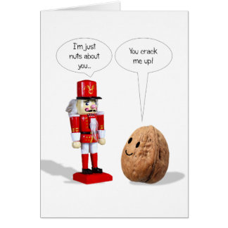 Nutcracker Love Valentine's Card