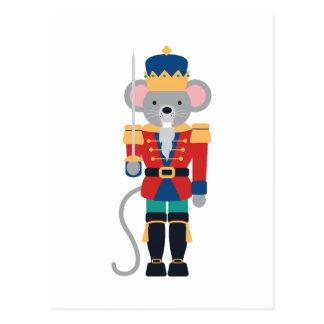 Nutcracker Mouse Postcard
