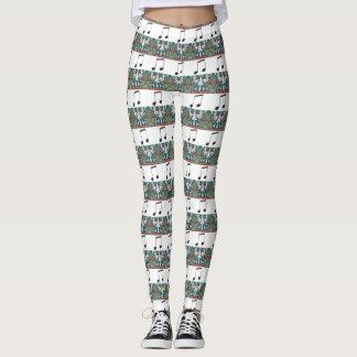Nutcracker Musical Stripes Leggings