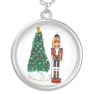 Nutcracker Silver Plated Necklace