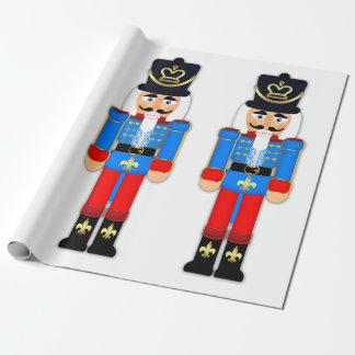 "Nutcracker Soldier Matte Wrapping Paper, 30"" x 6'"
