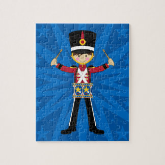 Nutcracker Soldier Playing Drums Jigsaw Puzzle