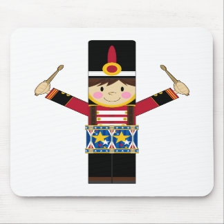 Nutcracker Soldier Playing Drums Mousepad