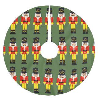 Nutcracker Soldier Tree Skirt, Brushed Polyester Brushed Polyester Tree Skirt