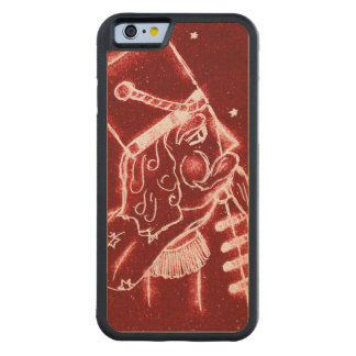 Nutcracker Toy Soldier in Bright Red Carved Maple iPhone 6 Bumper Case