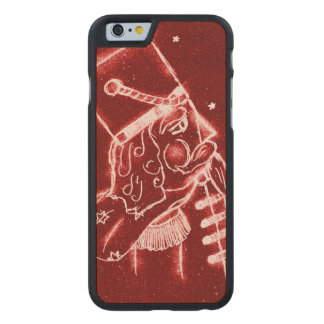 Nutcracker Toy Soldier in Bright Red Carved® Maple iPhone 6 Case